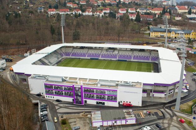 Nach Stadionsanierung: Weitere halbe Million für Stadionumfeld