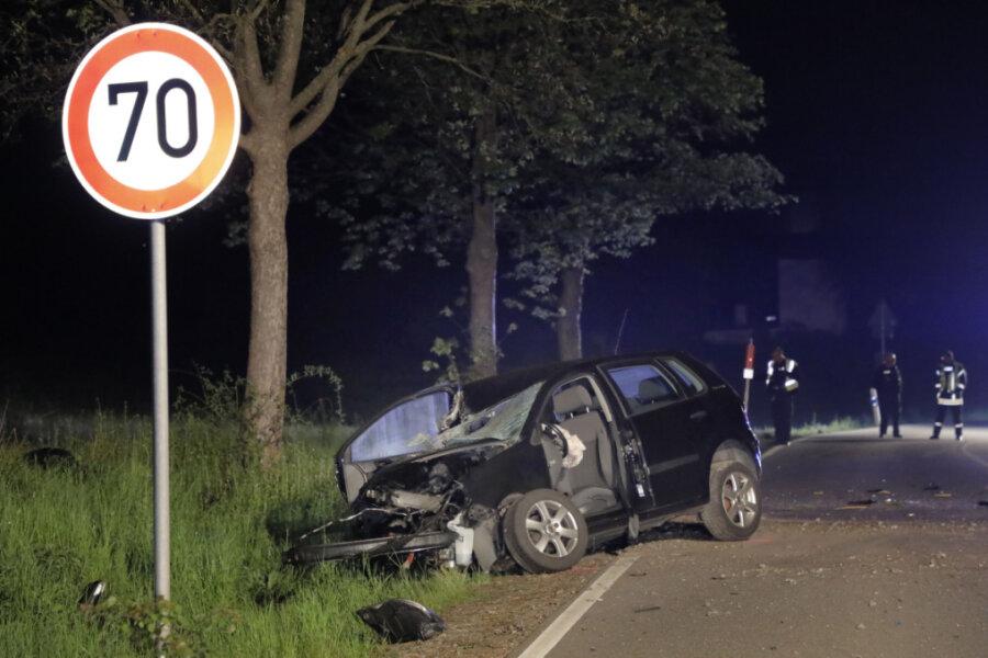 Von der Fahrbahn abgekommen - Pkw-Fahrer schwer verletzt