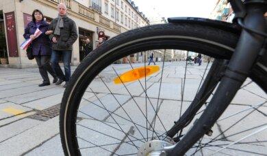 """<p class=""""artikelinhalt"""">Radeln in der Innenstadt wie hier auf der Inneren Klosterstraße: Die Meinungen dazu sind geteilt.</p>"""