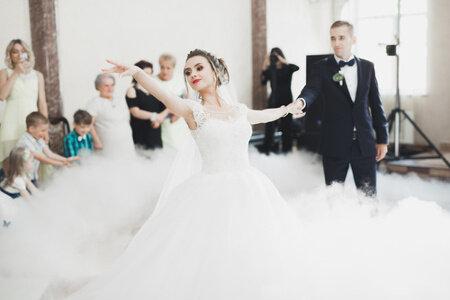 Glücklich und bewegt- der perfekte Hochzeitstanz!