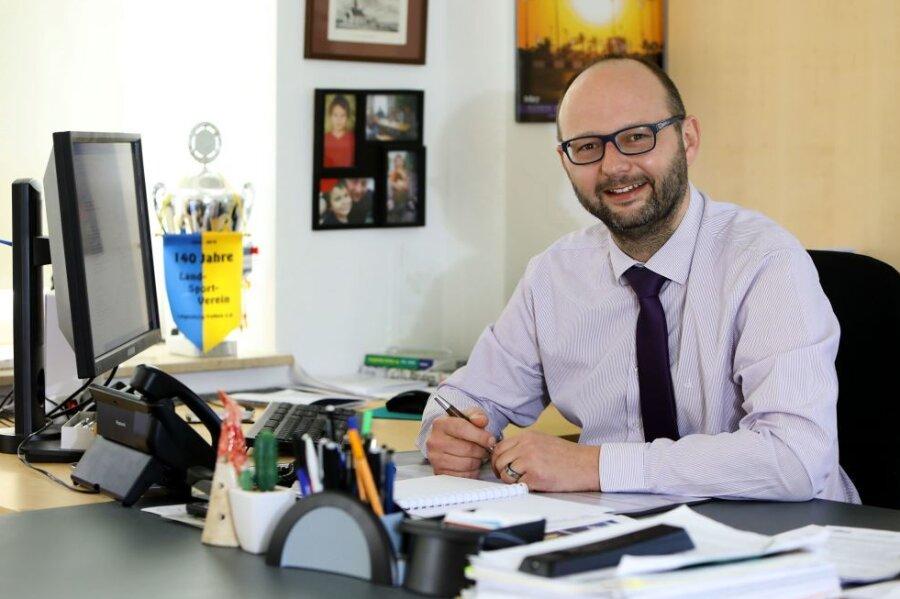 Der Neue ist der Alte: Daniel Röthig führt die Gemeinde Callenberg weiter.