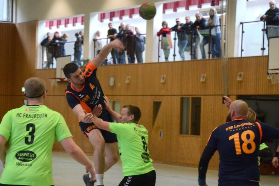 Lengenfelder Handballer treffen auf Tabellenvorletzten