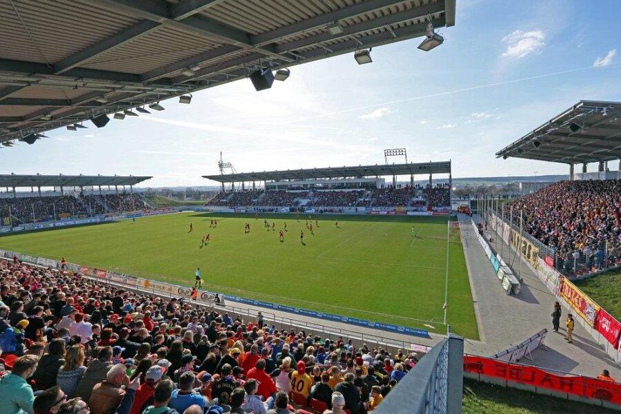 Ein Heimspiel des FSV Zwickau.
