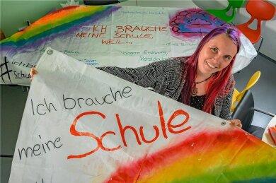 Schulsozialarbeiterin Linda Peter aus Lauter-Bernsbach.