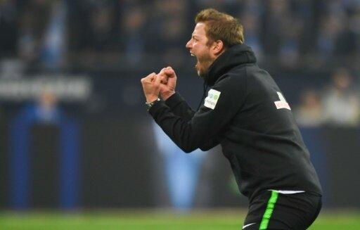 Bremen-Coach Kohfeldt will auch gegen Düsseldorf jubeln