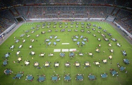 1.252 Teilnehmer sorgten für den Rekord in Düsseldorf