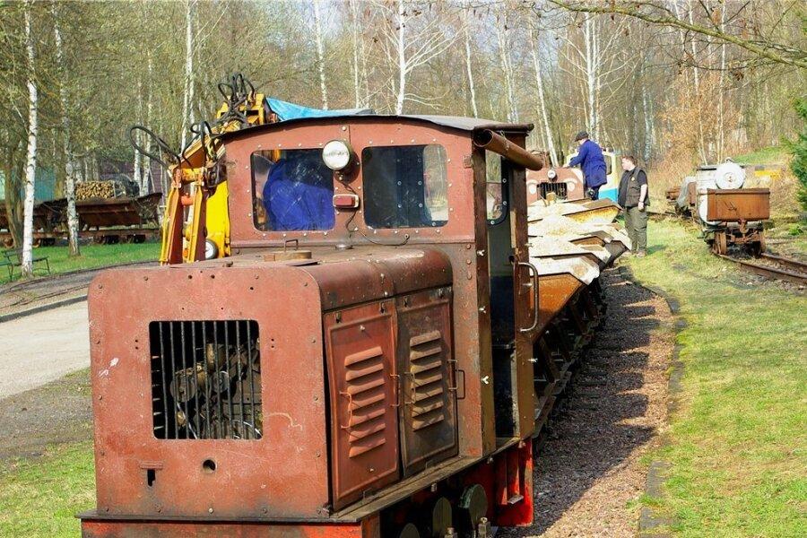 """Feldbahnen bilden am kommenden Wochenende einen besonderen Programmpunkt auf dem Gelände des eisenbahnhistorischen Areals """"Schauplatz Eisenbahn"""" in Hilbersdorf."""