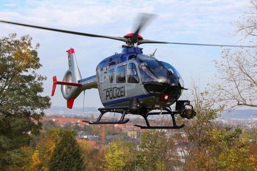 Nach Beschwerde über Twitter: Polizei verteidigt Hubschrauberflug
