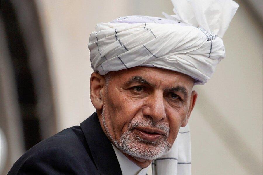 Ashraf Ghani - Entmachteter Präsident Afghanistans