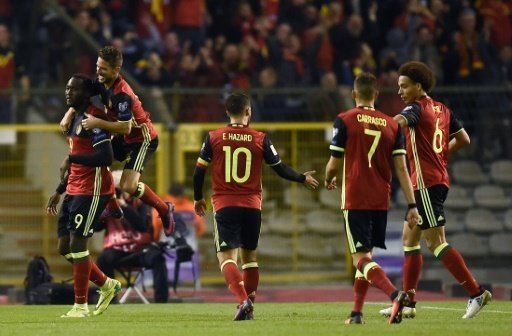 Belgien gewinnt gegen Bosnien-Herzegowina