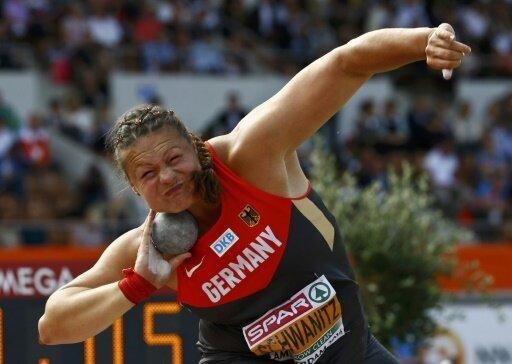 Christina Schwanitz knackt wieder die 20-Meter-Marke