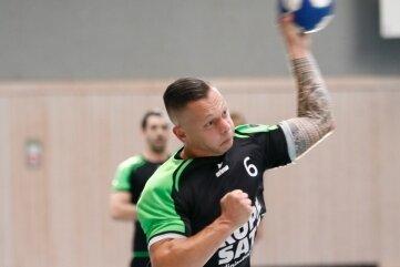 Christopher Franz war am Wochenende mit neun Toren in zwei Pokalspielen bester HSG-Werfer.
