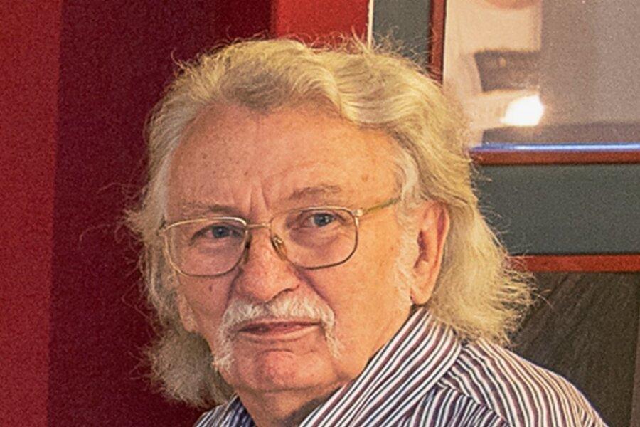 Frieder Spitzner, Vorsitzender der Vogtländischen Literaturgesellschaft.
