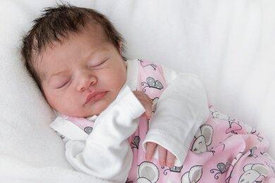 Mia ist im Helios-Klinikum in Aue zur Welt gekommen.