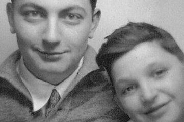 Ein Jugendbildnis der Brüder Helmut (links) und Werner Flieg.