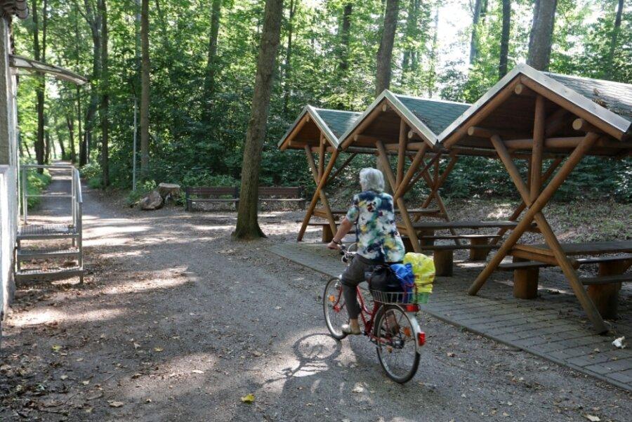 Wunderlich-Park: Bäume mit Trockenstress und weitere Vermüllung