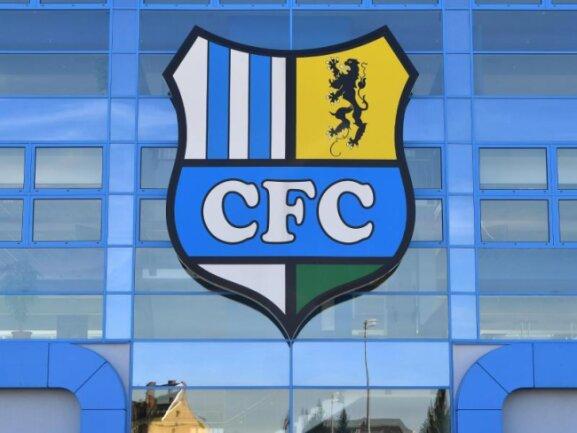 Das Vereinslogo des Chemnitzer FC.