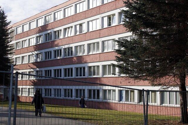 Die Sportschule an der Reichenhainer Straße.