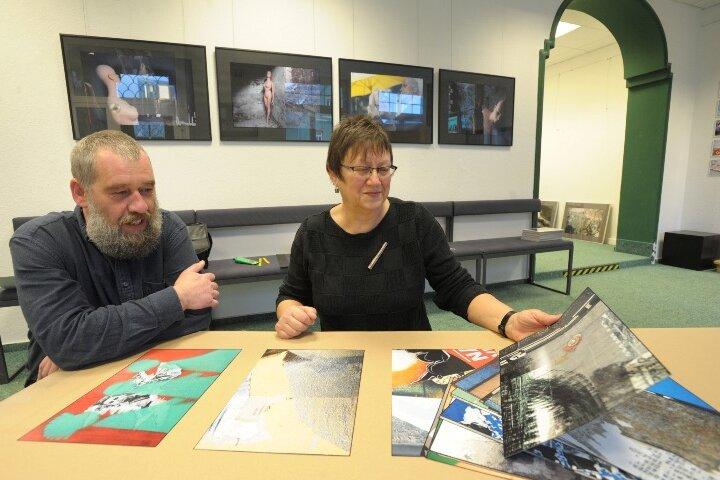 Die ehemalige Deutsch- und Kunstlehrerin Rosemarie Drews leitet ab neuem Jahr die Burgstädter Galerie Art Forum. Als erster Künstler stellt Kunstfotograf Steffen Heil aus Chemnitz seine Arbeiten ab Donnerstag aus