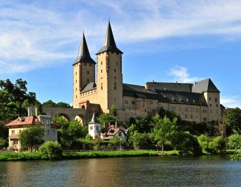 """Das Schloss Rochlitz lädt im Rahmen der Schlösser-Tour der """"Freien Presse"""" für Sonntag zur Besichtigung ein."""