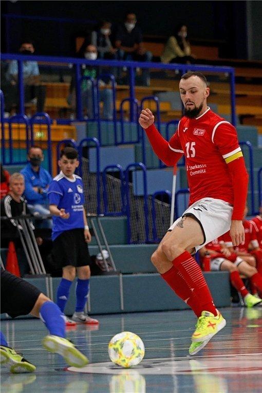 Christopher Wittig ist Kapitän von Hohenstein-Ernstthal und der Nationalmannschaft.