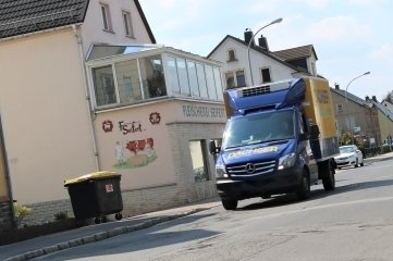 Ab der Fleischerei Seifert wird in Eppendorf die Freiberger Straße saniert.