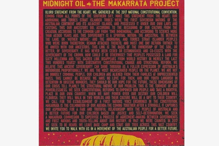 Midnight Oil: The Makarrata Project