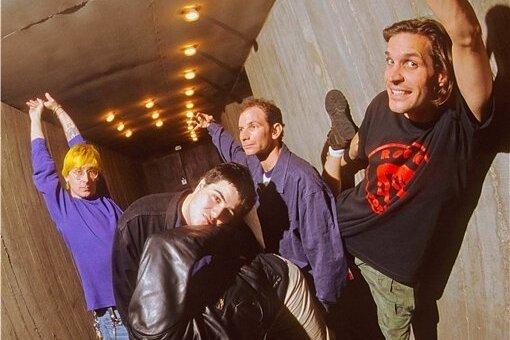 Ikone der weltweiten Punkrock-Explosion Ende der 1980er: Bad Religion.