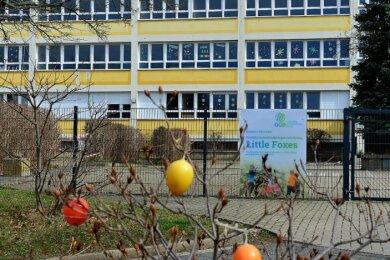 """In das Haus der Fremdsprachen-Kita """"Little Foxes"""" in Frankenberg soll nun noch eine englischsprachige Grundschule einziehen. Träger ist die Saxony International School gGmbH aus Glauchau."""