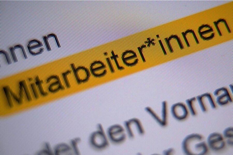 Im Plauener Rathaus wird auch künftig nicht gegendert.