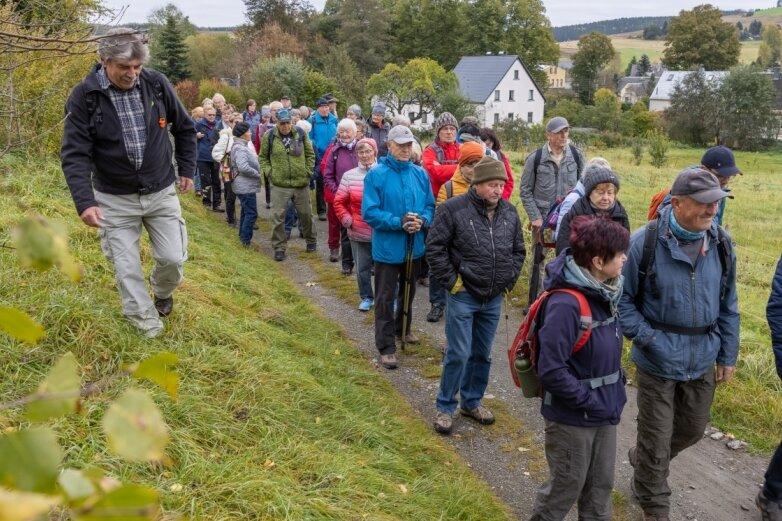 Erlebniswanderung führt um Crottendorf