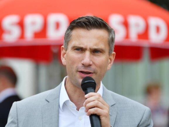 Martin Dulig (SPD), Wirtschaftsminister von Sachsen und Spitzenkandidat zur Landtagswahl.