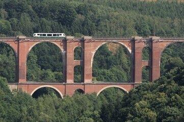 Auch die Elstertalbrücke soll Welterbe werden.