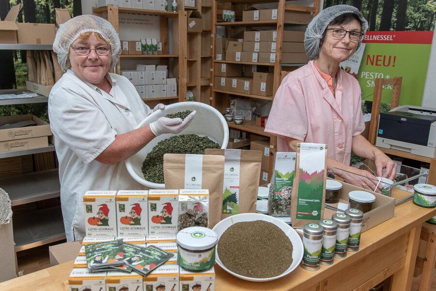 Pesto, Snacks, Tee: Manufaktur setzt auf Kraft der Brennnessel