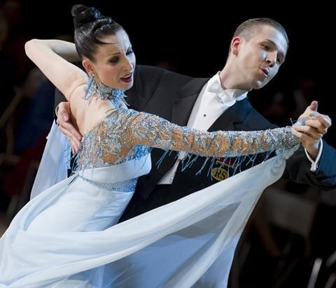 Sascha und Natascha Karabey aus Bad Homburg gewannen in Chemnitz die Konkurrenz in den Standardtänzen.