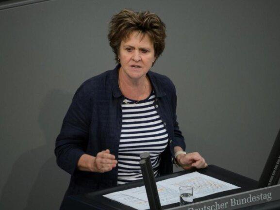 Sabine Zimmermann - Arbeitsmarktpolitische Sprecherin der Linken im Bundestag.