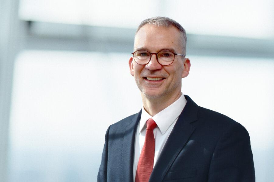 Thomas Jendges - Geschäftsführer des Klinikums Chemnitz