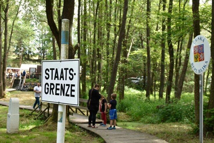 Das Dreiländereck Böhmen, Bayern und Sachsen am Kaiserhammer soll für Besucher aufgewertet werden. Dazu fanden jetzt Gespräche mit den Anrainerkommunen in Rehau statt.