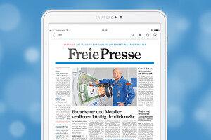 Bequem, kompakt, aktuell - so geht Zeitunglesen digital