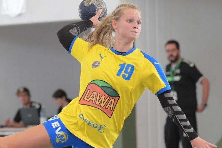 In der Marienberger Offensive sorgte unter anderem Natalie Holeckova mit ihren Würfen für Torgefahr.