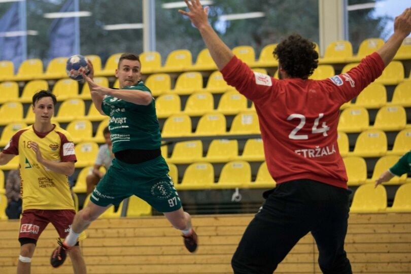 HSG-Handballer bieten Tschechiens Ex-Meister Paroli