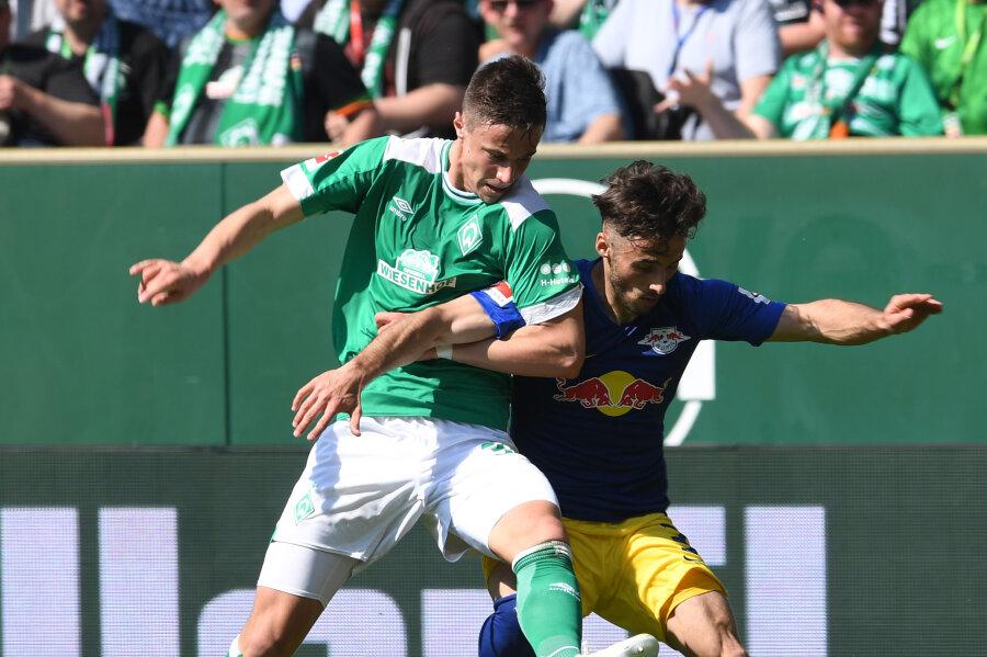 RB Leipzig unterliegt 1:2 gegen Werder Bremen