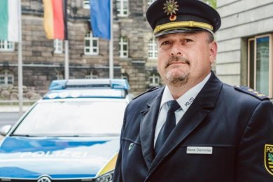René Demmler wird neuer Chef der Polizeidirektion Leipzig.