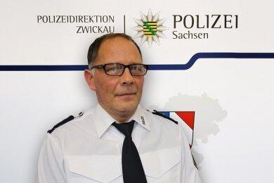 Kay-Uwe Mittmann - neuer Leiter des Polizeireviers Zwickau