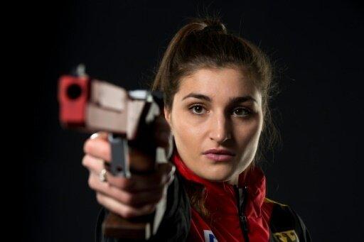 Rebecca Langrehr holt Gold in der Mixed-Staffel