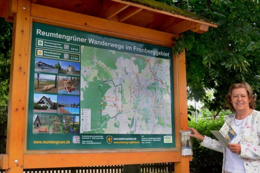 Reumtengrün wirbt fürs Wandern im Fronberggebiet