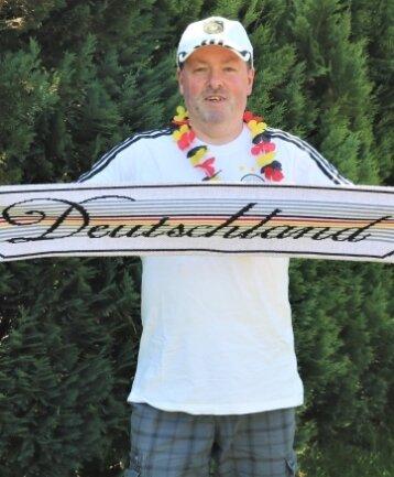 Tilo Kleßig hatte für das Fußball-EM-Spiel Deutschland-Portugal zwei Tickets gewonnen.