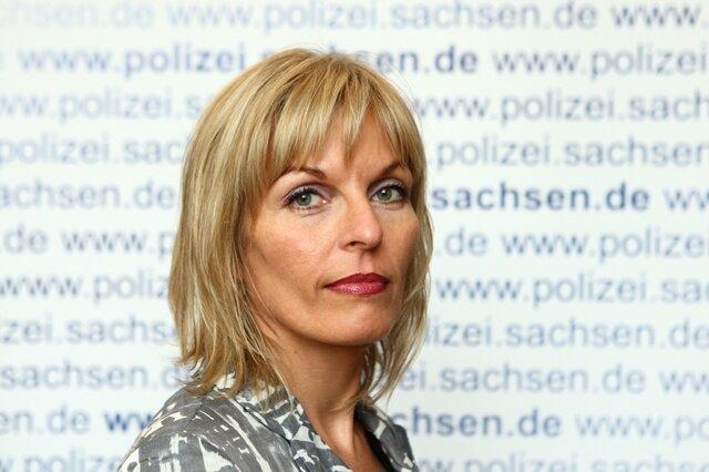 Jana Kindt, Sprecherin der Polizeidirektion Chemnitz