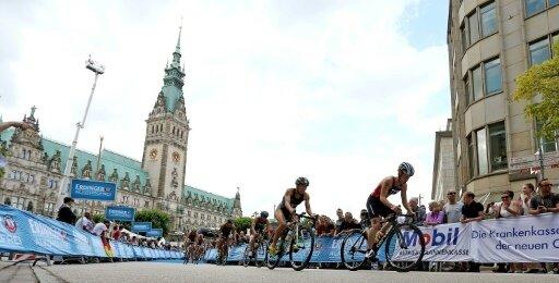 Zahlreiche Top-Athleten bestreiten den Hamburg-Triathlon