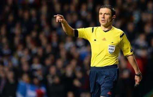 Milorad Mazic pfeift Dortmund gegen Turin
